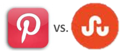 Pinterest vs StumbleUpon