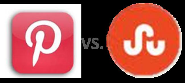 Pinterest vs StumbleUpon